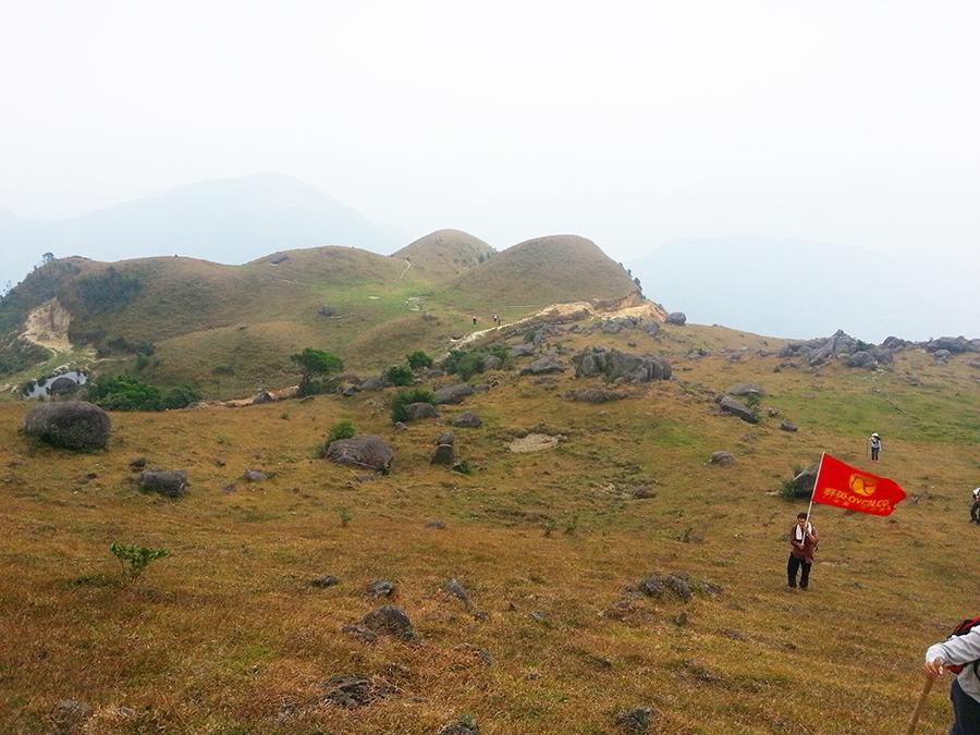 茂名群英:2013年11月登高州大坡平云山大风顶